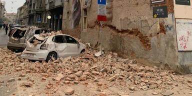 Erdbeben Zagreb