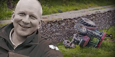Franz Thron Rotkreuz-Chef Pernitz Wiener Neustadt Traktorunfall