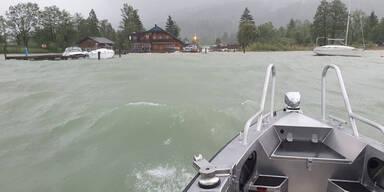 Wasserrettung Salzburg Mondsee Wolfgangsee