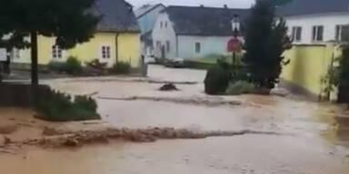 Wimpassing an der Pielach Unwetter NÖ Sturzflut