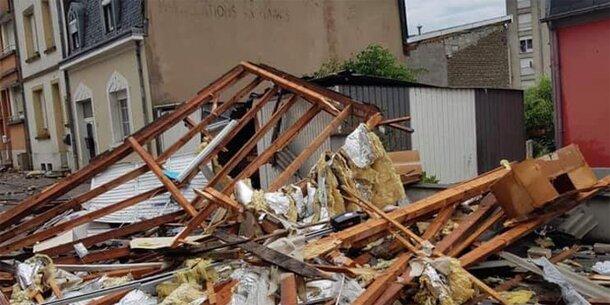 Tornado & Blitz-Drama: Sommer der Unwetter