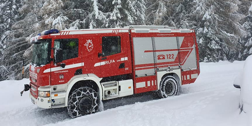 LKH Stolzalpe Spital Schnee Steiermark
