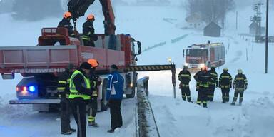 Feuerwehr Schnee Steiermark