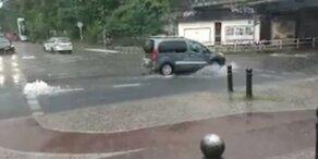 Sintflut-Regen: Ausnahmezustand in Berlin ausgerufen