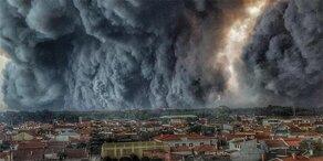 Apokalyptische Szenen aus Portugal