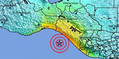 Erdbeben Mexiko
