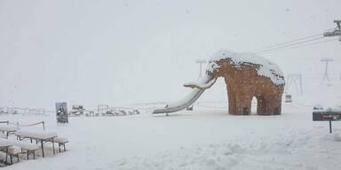 20 Zentimeter Neuschnee auf den Bergen!