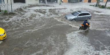 Schwere Unwetter stürzten Voitsberg ins Chaos