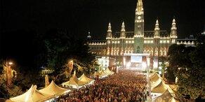 Filmfestival am Wiener Rathausplatz abgebrochen