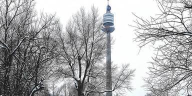 Schnee in Wien