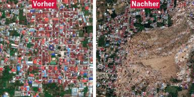 Palu Erdbeben Tsunami Indonesien