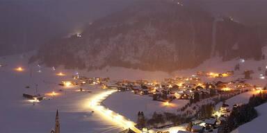 Schnee Österreich