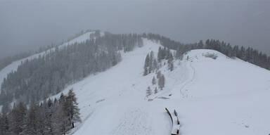 Brunnach Süd Schnee