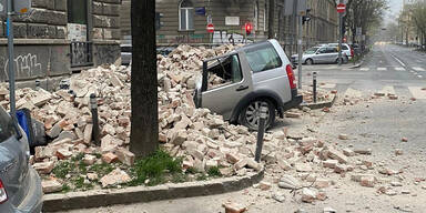 Zagreb Erdbeben