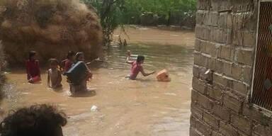 Mehr als 130 Tote bei Überschwemmungen im Jemen