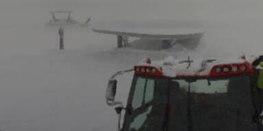 Loser Lift Schnee