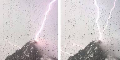 Großglockner Blitzeinschlag
