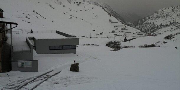 Alle Fotos: Wo jetzt schon Schnee liegt