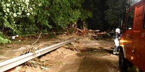 Schwere Unwetter fordern ein Todesopfer