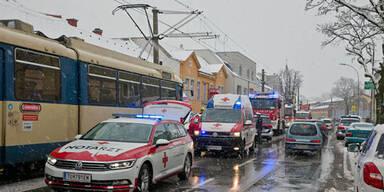Baden Schnee Rettung
