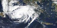 Griechenland zittert vor Mittelmeer-Hurrikan Ianos