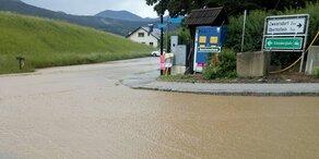 Unwetter: Wieder Überflutungen in NÖ