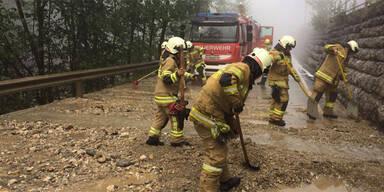 Hagel Unwetter Feuerwehr Salzburg Pongau