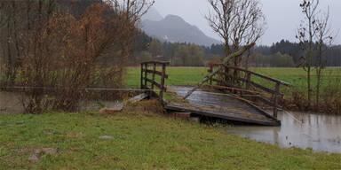 Unwetter Hochwasser Lesachtal