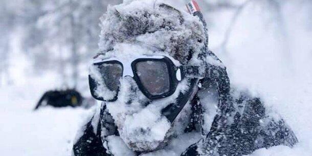 Die irrsten Schnee-Fotos aus Österreich