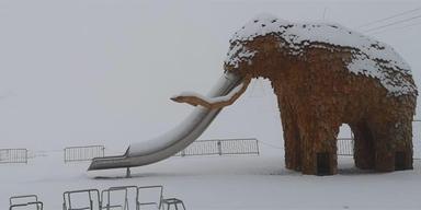 STubaier Gletscher Schnee