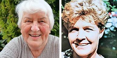 Ilse Fischler (80) aus Hall und Brunhilde Heel (78) aus Absam