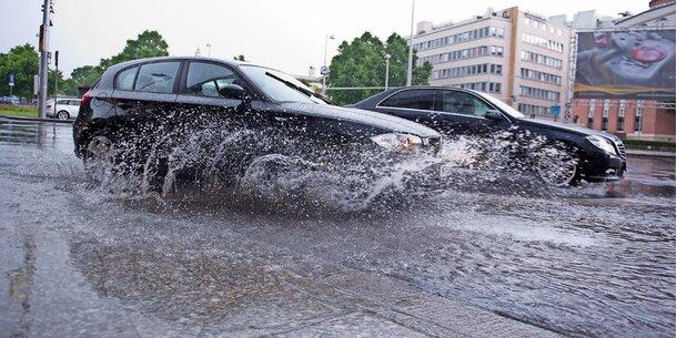 Starkregen-Alarm im Osten Österreichs