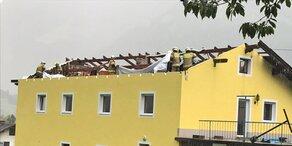 Schwere Sturmschäden im Salzburger Pinzgau