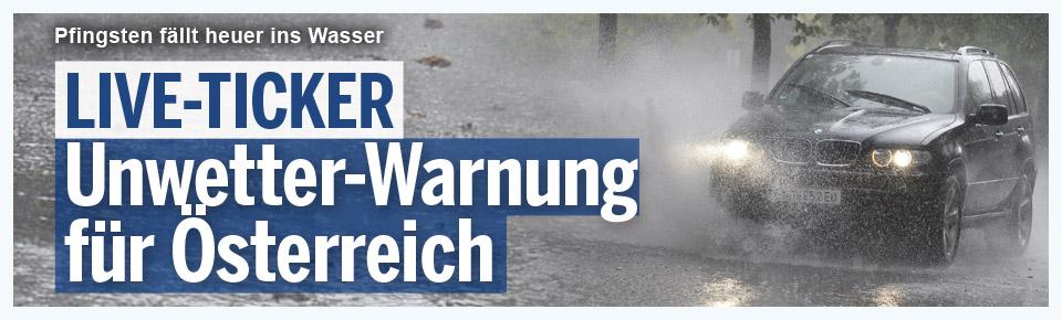 Warnung vor Sintflut-Regen