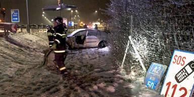 Unfall Schnee Schwarzau