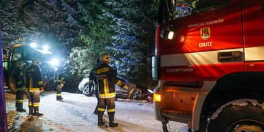 Unfall Edlitz Schnee