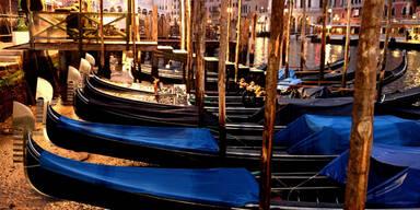 Venedig ausgetrocknet