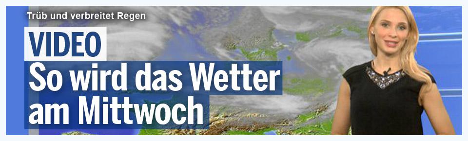 Das Wetter heute: Trüb und verbreitet Regen
