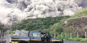 Suche nach Vulkan-Opfern eingestellt