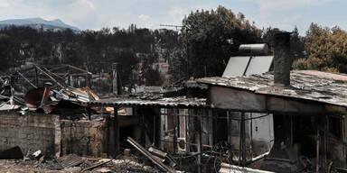 Waldbrände Griechenland