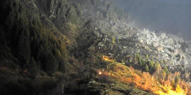 Waldbrand Tirol