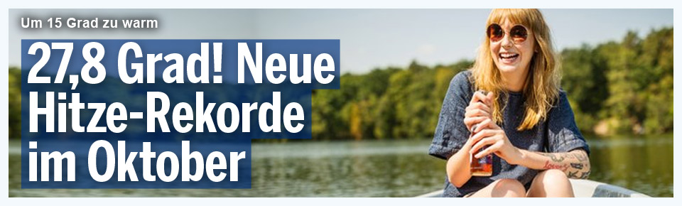 27,8 Grad in Leibnitz: Neue Hitze-Rekorde im Oktober