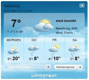 Widget Salzburg
