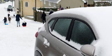 Winter Großbritannien