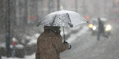 Winter-Schock: Jetzt kommt nochmals Schnee