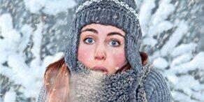 Schnee und Sturm: Jetzt wird es kalt
