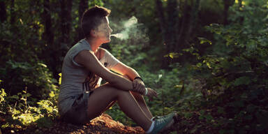 Zigaretten Rauchen Wald