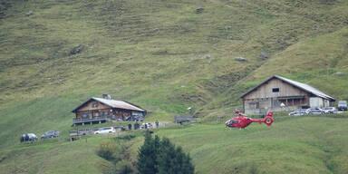 Cobra-Einsatz nach Explosion auf Tiroler Alm