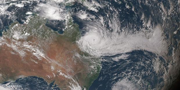Zehntausende nach Sturm in Australien in Sicherheit gebracht