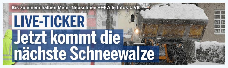 "Sturmtief ""Egon"" stürzte Europa ins Winterchaos"